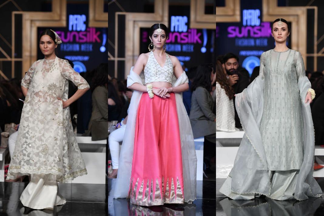Day 1: Zara Shahjahan was the show opener at PFDC Sunsilk